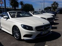 Nuova Mercedes Classe S 500 e S 63 Cabrio AMG: prova su strada, motorizzazioni e prezzi