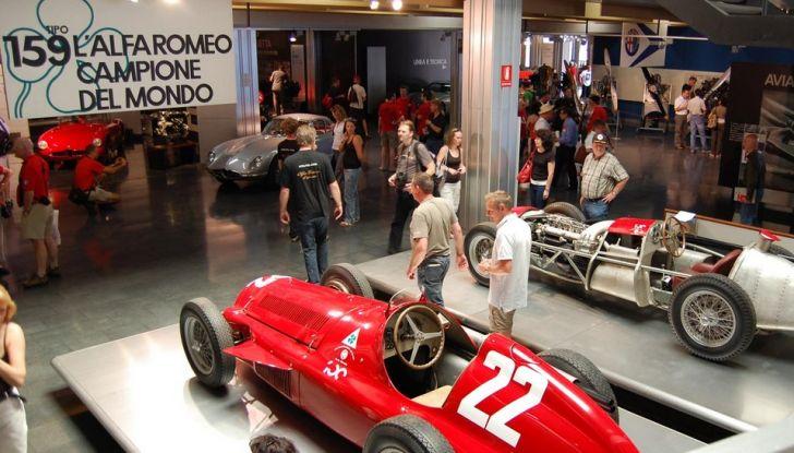 """Alfa Romeo, la Mostra """"Cofani Aperti"""" al Museo Storico di Arese - Foto 13 di 20"""