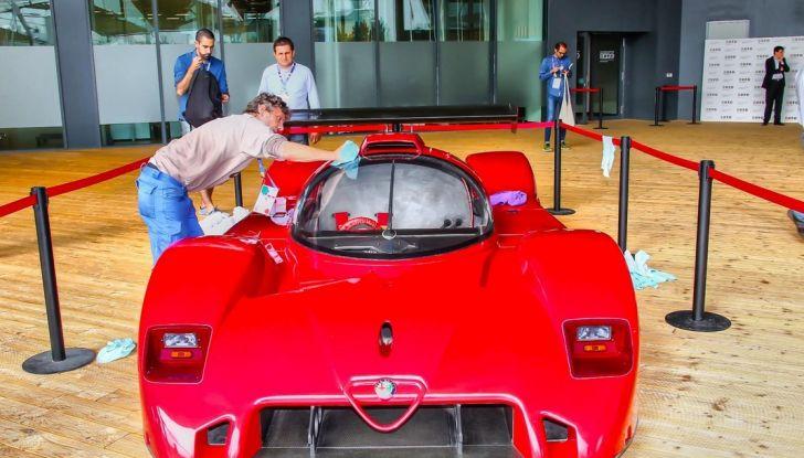 """Alfa Romeo, la Mostra """"Cofani Aperti"""" al Museo Storico di Arese - Foto 14 di 20"""