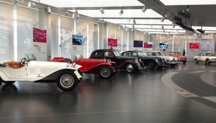 """Alfa Romeo, la Mostra """"Cofani Aperti"""" al Museo Storico di Arese - Foto 2 di 20"""