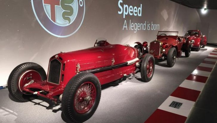 """Alfa Romeo, la Mostra """"Cofani Aperti"""" al Museo Storico di Arese - Foto 5 di 20"""