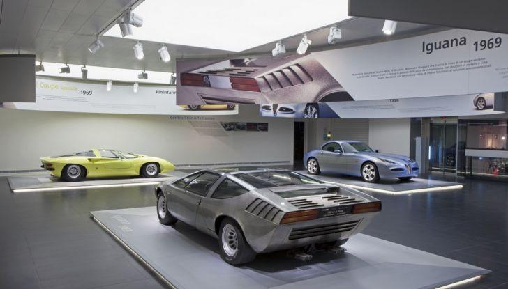 """Alfa Romeo, la Mostra """"Cofani Aperti"""" al Museo Storico di Arese - Foto 10 di 20"""