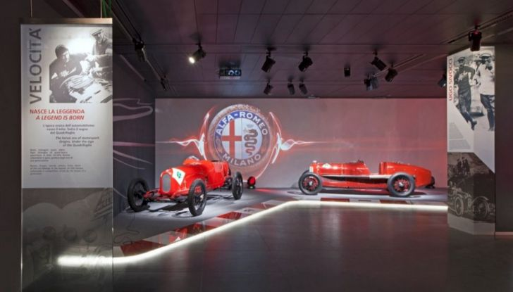 """Alfa Romeo, la Mostra """"Cofani Aperti"""" al Museo Storico di Arese - Foto 12 di 20"""
