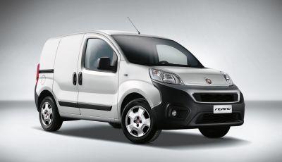 Nuovo Fiat Fiorino: motori Euro 6 e stile rinnovato per lo small van