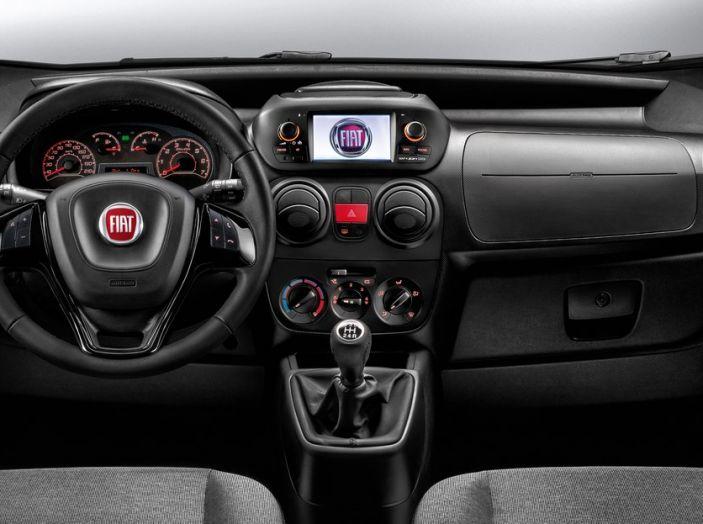 Nuovo Fiat Fiorino: motori Euro 6 e stile rinnovato per lo small van - Foto 2 di 9
