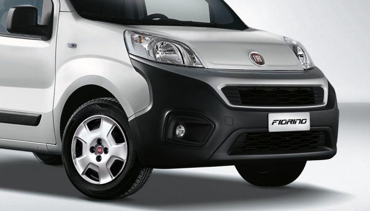 Nuovo Fiat Fiorino: motori Euro 6 e stile rinnovato per lo small van - Foto 4 di 9