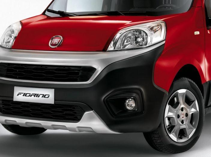 Nuovo Fiat Fiorino: motori Euro 6 e stile rinnovato per lo small van - Foto 6 di 9