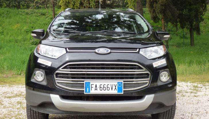Ford EcoSport prova su strada, motorizzazioni e prezzi - Foto 3 di 41