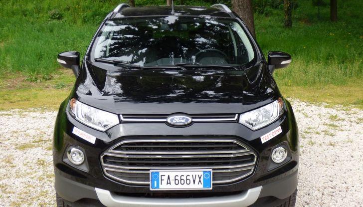 Ford EcoSport prova su strada, motorizzazioni e prezzi - Foto 5 di 41