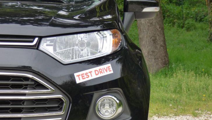 Ford EcoSport prova su strada, motorizzazioni e prezzi - Foto 11 di 41
