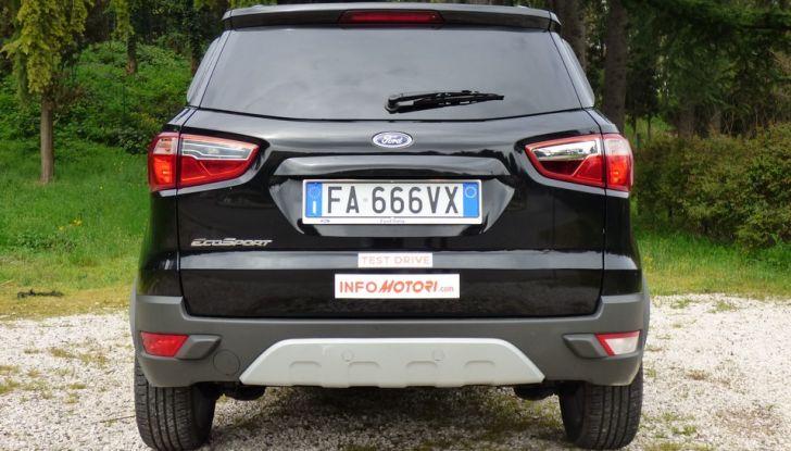 Ford EcoSport prova su strada, motorizzazioni e prezzi - Foto 17 di 41