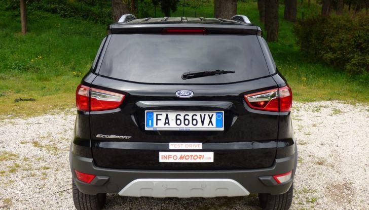 Ford EcoSport prova su strada, motorizzazioni e prezzi - Foto 8 di 41