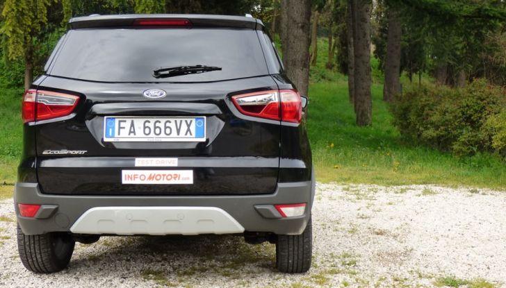 Ford EcoSport prova su strada, motorizzazioni e prezzi - Foto 21 di 41