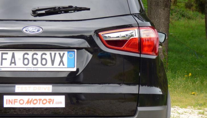 Ford EcoSport prova su strada, motorizzazioni e prezzi - Foto 7 di 41
