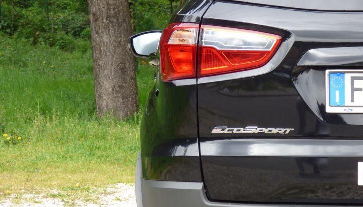 Ford EcoSport prova su strada, motorizzazioni e prezzi - Foto 24 di 41