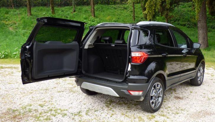 Ford EcoSport prova su strada, motorizzazioni e prezzi - Foto 25 di 41
