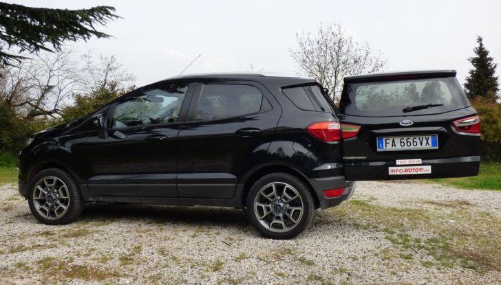 Ford EcoSport prova su strada, motorizzazioni e prezzi - Foto 28 di 41