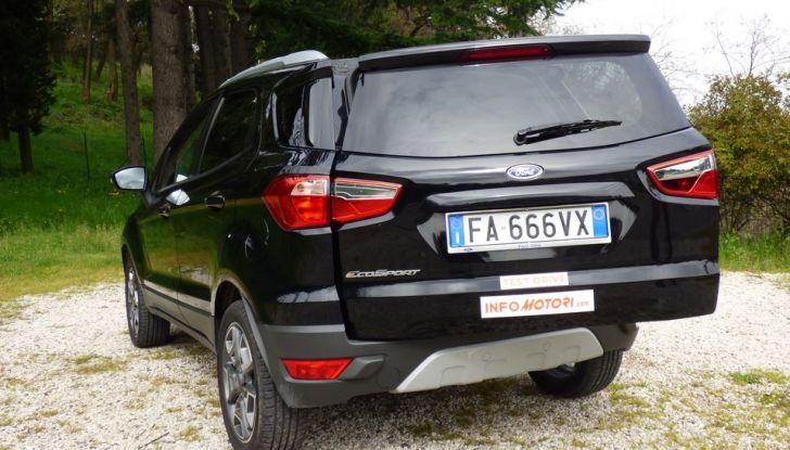 Ford EcoSport prova su strada, motorizzazioni e prezzi - Foto 31 di 41