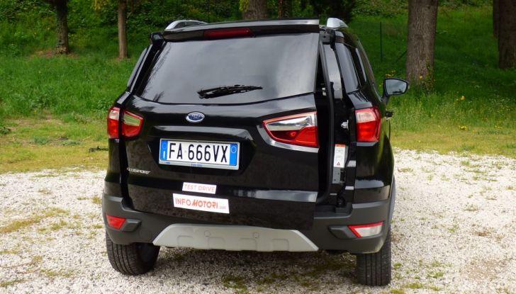 Ford EcoSport prova su strada, motorizzazioni e prezzi - Foto 32 di 41