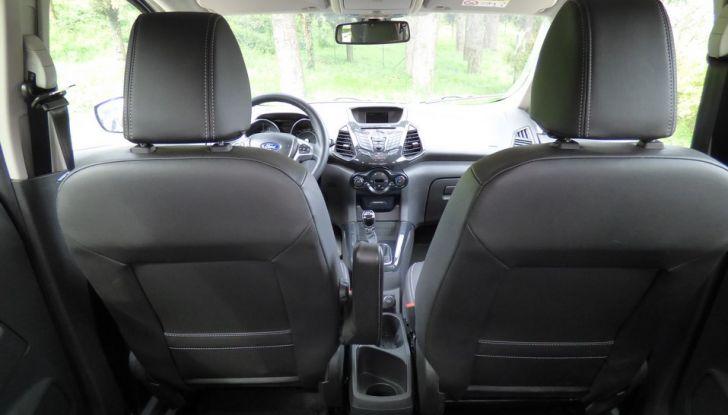 Ford EcoSport prova su strada, motorizzazioni e prezzi - Foto 33 di 41