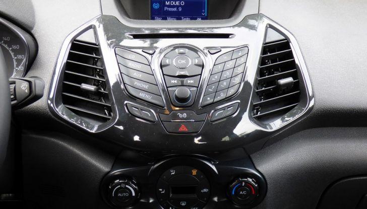 Ford EcoSport prova su strada, motorizzazioni e prezzi - Foto 35 di 41