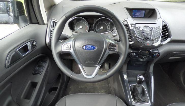 Ford EcoSport prova su strada, motorizzazioni e prezzi - Foto 36 di 41