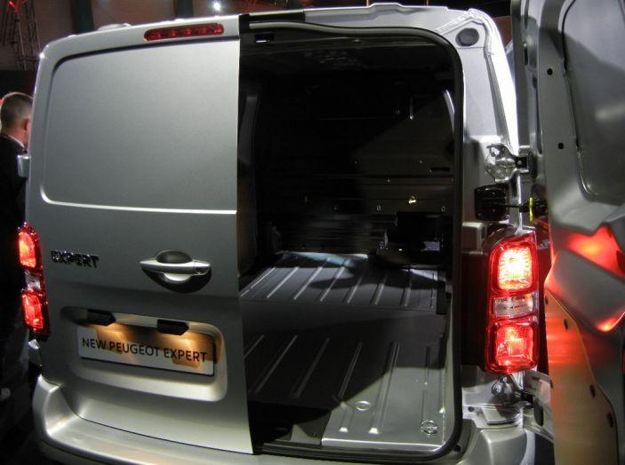 nuovo-Peugeot Expert vano di carico