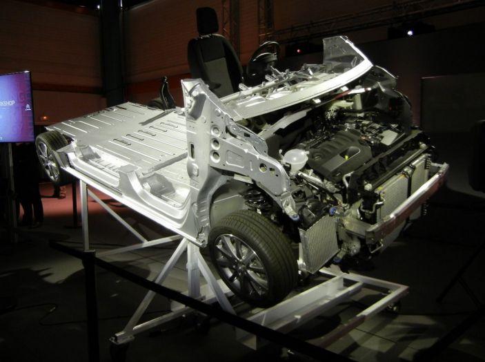 Peugeot Expert e Citroën Jumpy test drive struttura