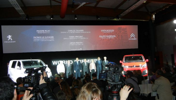 Peugeot Expert e Citroën Jumpy presentazione ufficiale