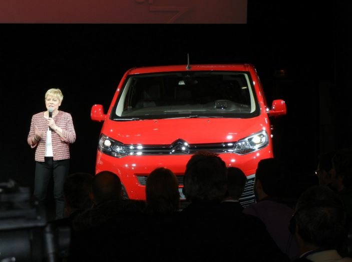 Citroën Jumpy prova su strada