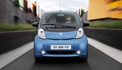 Peugeot iOn: l'auto elettrica per la città