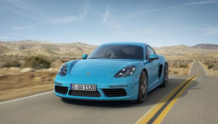 Prova comparativa tra Toyota Supra, Porsche Cayman S e Audi TT RS - Foto 6 di 28