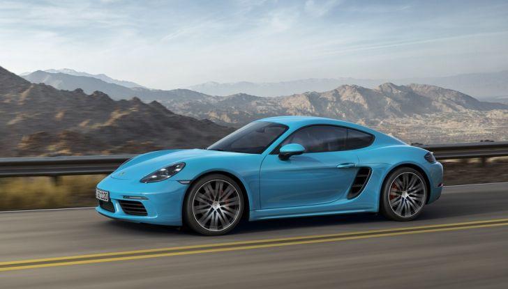 Prova comparativa tra Toyota Supra, Porsche Cayman S e Audi TT RS - Foto 14 di 28
