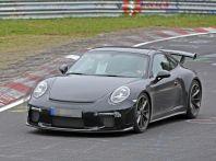 Porsche 911 GT3 restyling, le prime immagini spia dei test