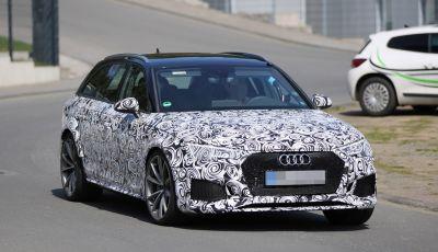 Audi Sport sempre più avanti: Audi RS4 Avant 2017