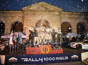 Rally 1000 Miglia: il 13 e 14 maggio si corre la quarantesima edizione