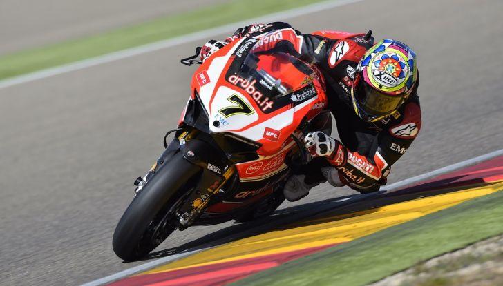 Superbike Aragon: la Ducati del gallese si aggiudica Gara 1 - Foto 1 di 5