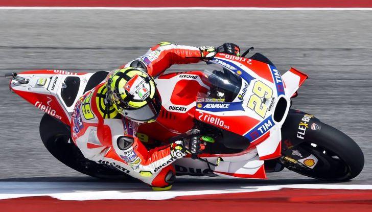 MotoGP, Marquez vince ad Austin. Rossi: caduta e ritiro. - Foto 5 di 13