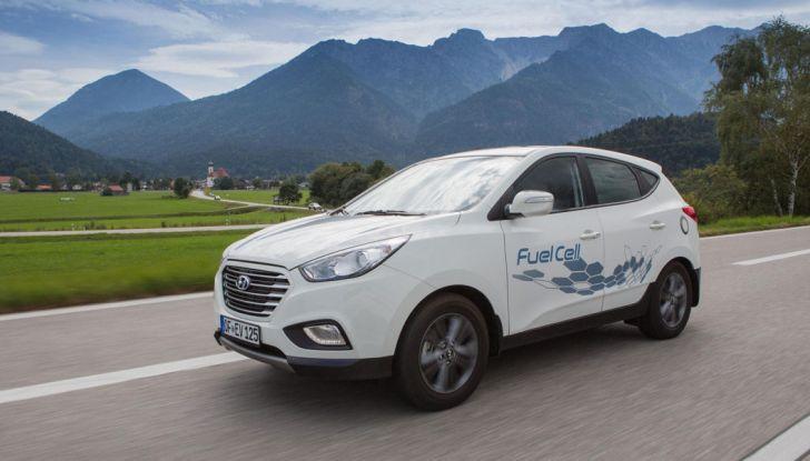 Hyundai BeeZero, il primo car sharing a idrogeno del mondo - Foto 4 di 6