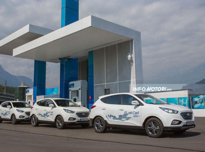 Hyundai BeeZero, il primo car sharing a idrogeno del mondo - Foto 6 di 6