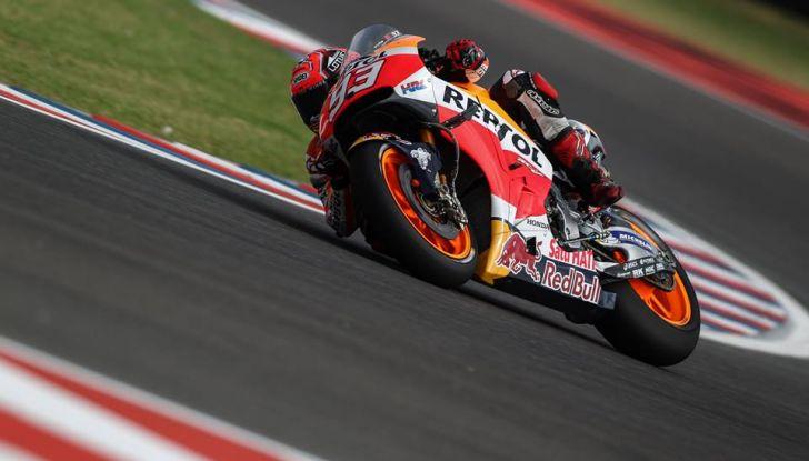 MotoGP: Marquez vince in Argentina, Rossi è secondo - Foto 9 di 15