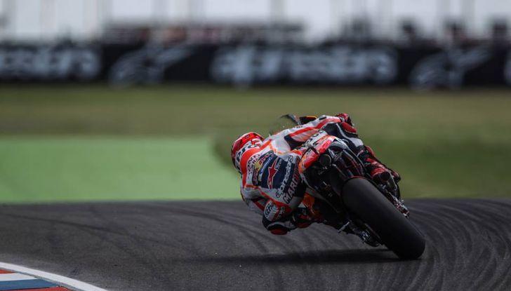 MotoGP: Marquez vince in Argentina, Rossi è secondo - Foto 4 di 15