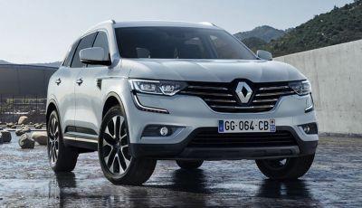 Nuovo Renault Koleos: prime foto ufficiali