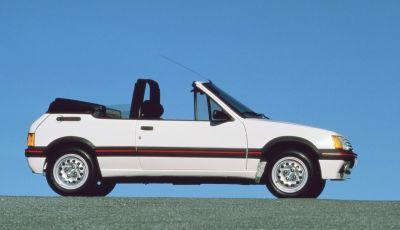 Peugeot 205 Cabrio compie 30 anni e diventa auto storica