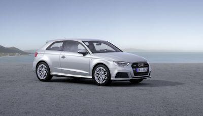 Nuova Audi A3: Sportback, 3 porte, Cabriolet e Sedan