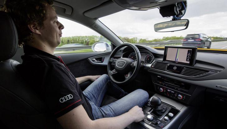 Audi A7 guida pilotata interno