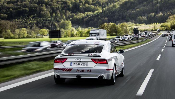 A7 Audi evoluzione guida pilotata