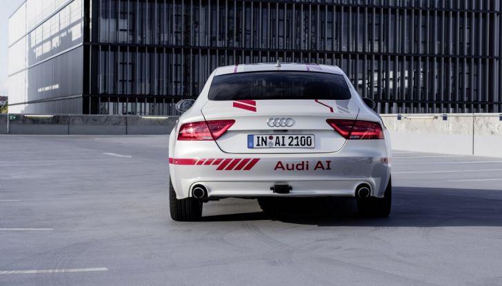 Audi A7 guida pilotata Jack