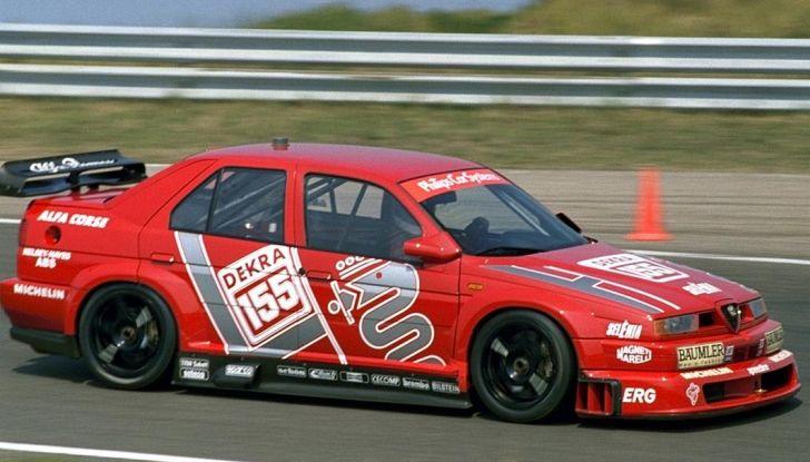 Alfa Romeo 155 V6 TI: una stella del DTM - Foto 15 di 18