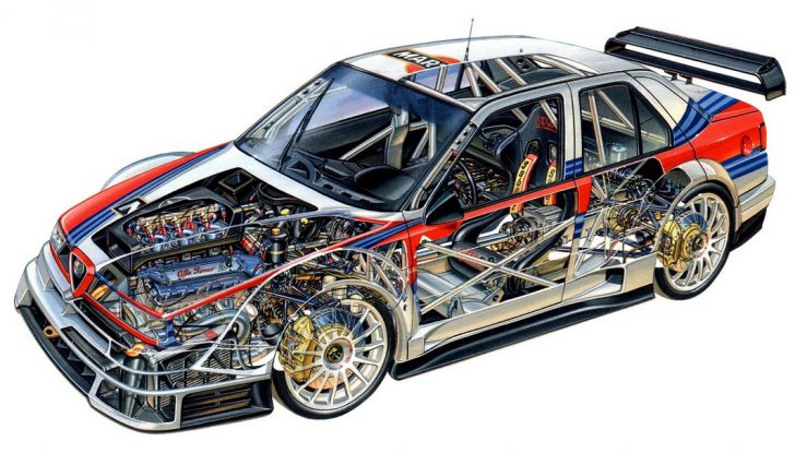 Alfa Romeo 155 V6 TI: una stella del DTM - Foto 3 di 18